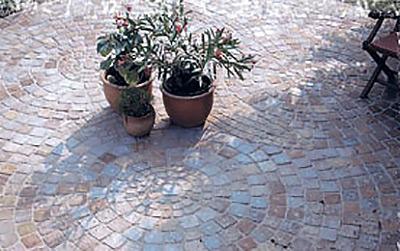 Terrasse Banera-Sandstein